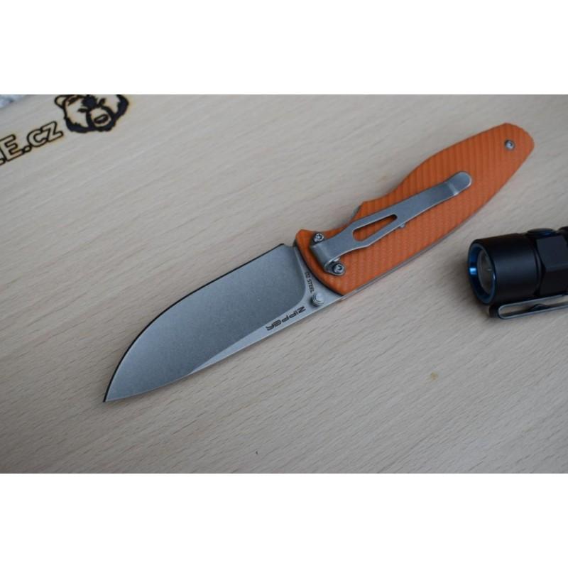 Mr. Blade Zipper Bright Orange