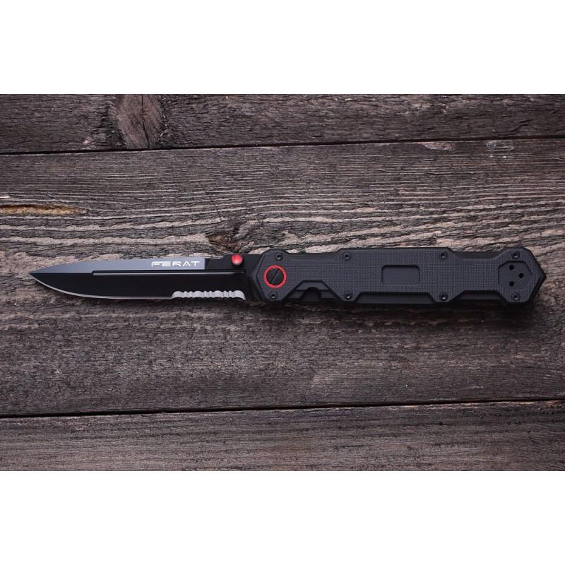 Mr. Blade Ferat Black Serrated