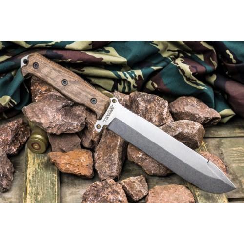 Kizlyar Supreme Survivalist X AUS-8 StoneWash Walnut
