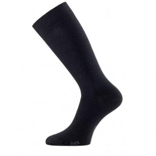 Lasting DWA 900 černé vlněné ponožky