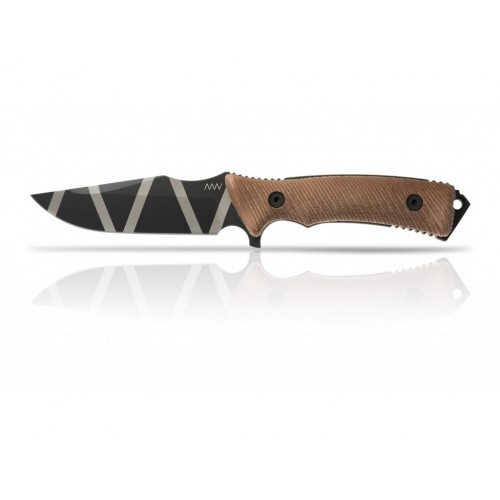 ANV M311 SPELTER ANV STRIPES/BROWN GRIP – KYDEX SHEATH