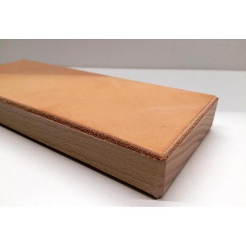 Kožený obtahovací blok (jemná strana kůže)