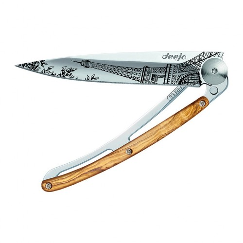 Deejo Tattoo Mirror 37g Eiffel Tower olive wood