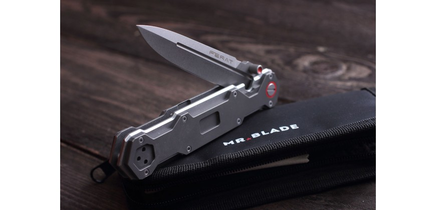 Mr. Blade Ferat M390 / Titanium Limited Edition